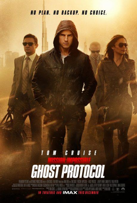 Mission Impossible IV : Ghost Protocol / Мисията невъзможна 4 : Режим Фантом (2011)